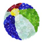 Seaglass Beach Ball