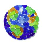 sea glass globe
