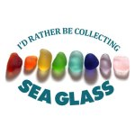 be collecting sea glass