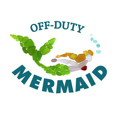 off duty sea glass mermaid