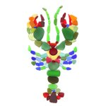 sea glass lobster