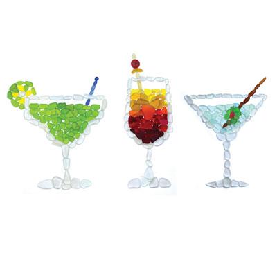 sea glass cocktails