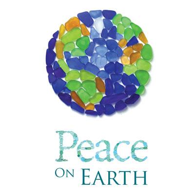 sea glass peace on earth