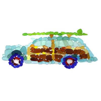 Seaglass Woodie Car