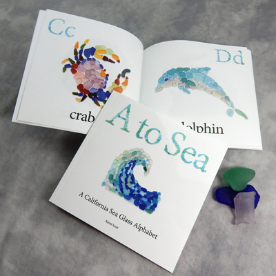 sea glass alphabet book