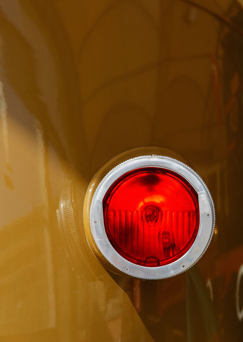 tail light red seaglass